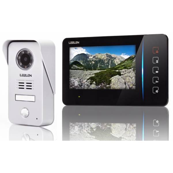 Videointerfon Leelen N60 negru, camera Nr.15 + ID